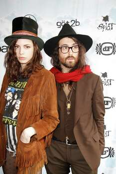 AUSTIN, TX - MARCH 14: Charlotte Kemp Muhl and Sean Lennon attend eBay Giving Works and Nylon Launch MusiCares Auction during SXSW 2014 on March 14, 2014 in Austin, Texas. Photo: Rahav Segev, Getty Images For EBay Giving Wor / 2014 Getty Images