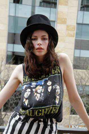 AUSTIN, TX - MARCH 14: Charlotte Kemp Muhl of the band The Ghost of a Saber Tooth Tiger at Mal Verde attends eBay Giving Works and Nylon Launch MusiCares Auction during SXSW 2014 on March 14, 2014 in Austin, Texas. Photo: Rahav Segev, Getty Images For EBay Giving Wor / 2014 Getty Images