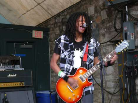 Family punk band Radkey plays the Spin party at Stubb's on Friday.