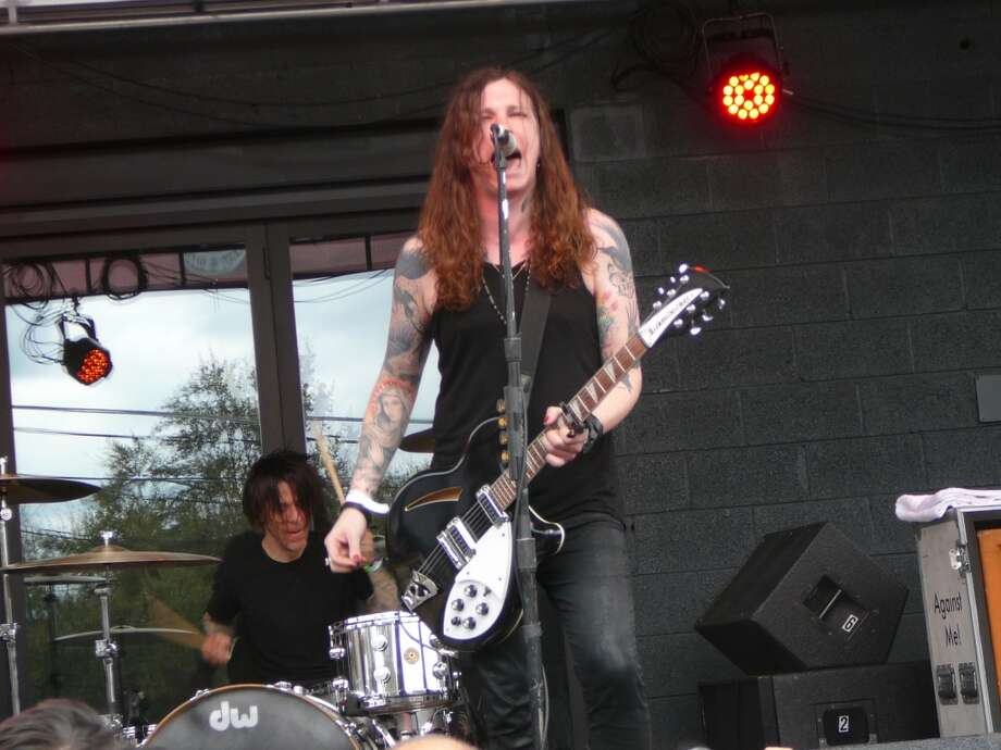 Laura Jane Grace played a monster set with Against Me! at the Spin party