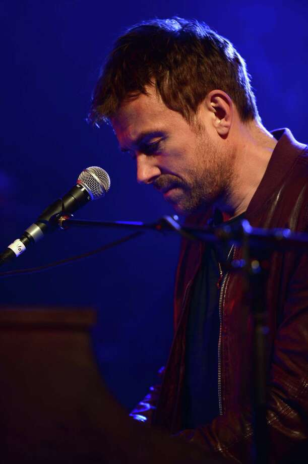 Musician Damon Albarn performs during the NPR 2014 SXSW Music, Film + Interactive show in Austin, Texas. Photo: Michael Loccisano, Getty Images For SXSW / 2014 Getty Images