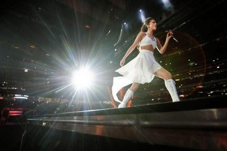 Selena Gomez, March 9 Some fans were likely disappointed that a rumored Justin Bieber appearance during Selena Gomez's performance didn't happen at the Houston Livestock Show and Rodeo. (The Twitterverse convinced he'd appear onstage any minute.) But Gomez had enough pop sparkle on her own. Photo: Johnny Hanson/Houston Chronicle