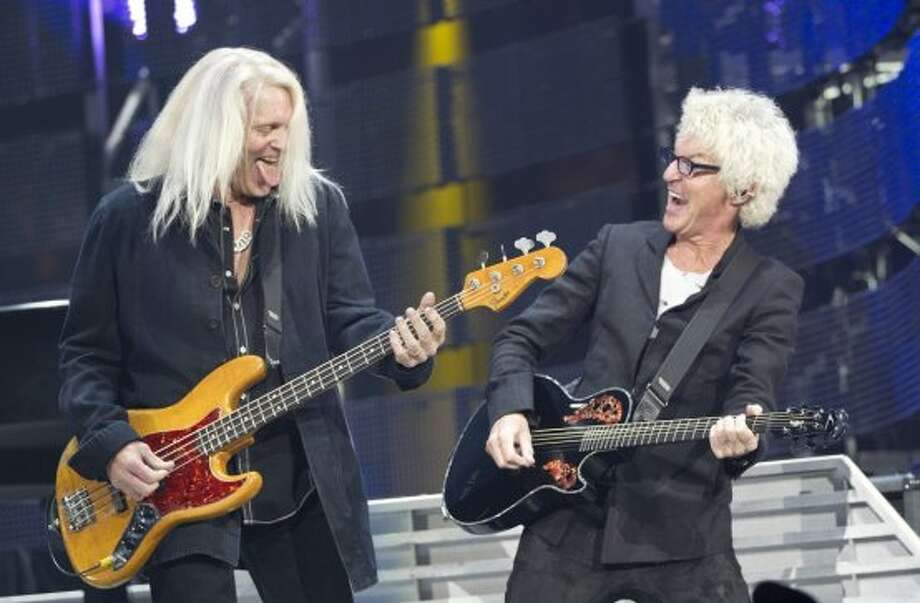 REO Speedwagon, March 10    REO Speedwagon returned to the Houston Livestock Show and Rodeo for the first time since 2002.  Photo: Johnny Hanson/Houston Chronicle