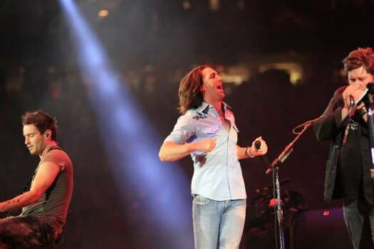 "Jake Owen, March 12   Jake Owen vowed to ""shake as many hands as I can"" during his performance at the Houston Livestock Show and Rodeo. Photo: Johnny Hanson/Houston Chronicle"