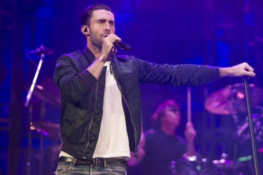 Maroon 5, March 13   Maroon 5 front man Adam Levine  explained to the crowd why kept a noticeably clean mouth  during Maroon 5's performance at the Houston Livestock Show and Rodeo. Photo: Marie D. De Jesús/Houston Chronicle