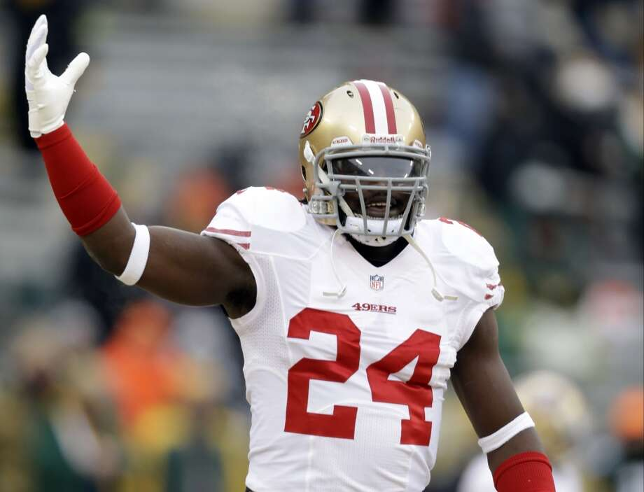 Anthony Dixon  Position: RB  Status: Signed with Buffalo Bills Photo: Jeffrey Phelps, Associated Press