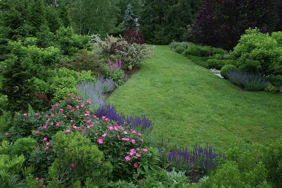 A garden and landscaped property by PetrowGardens Landscape Design of Westport. Photo: Contributed Photo / Fairfield Citizen