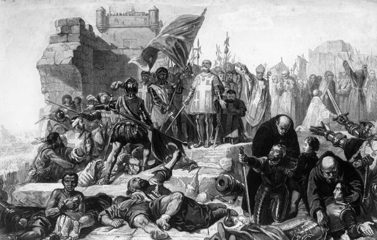 May 18 - Sept. 11, 1565 The Ottoman Empire invaded the island of Malta with an army of about 28,000 or more, but were soundly defeated by a force of about 8,000 led by the Knights Hospitaller.