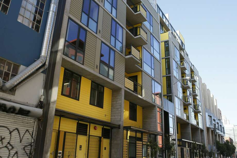 The Natoma Family Apartments is a 60-unit affordable housing complex for which 2,800 people applied. Tenants began moving in last month. Photo: Codi Mills, The Chronicle