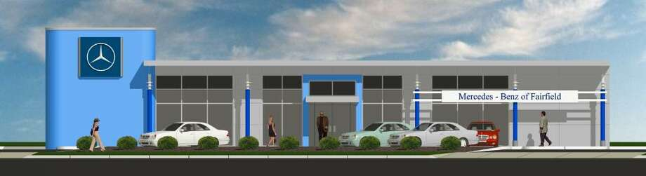 Rendering of the renovated showroom at Mercedes-Benz of Fairfield. Photo: Contributed Photo / Connecticut Post Contributed