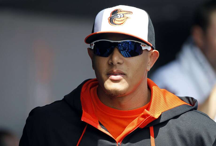Baltimore third baseman Manny Machado is experiencing soreness after having knee-ligament surgery in October. Photo: Kim Klement, Reuters