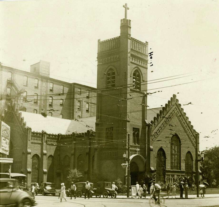 Christ Church Cathedral, 1936. Photo: Houston Chronicle / Houston Chronicle