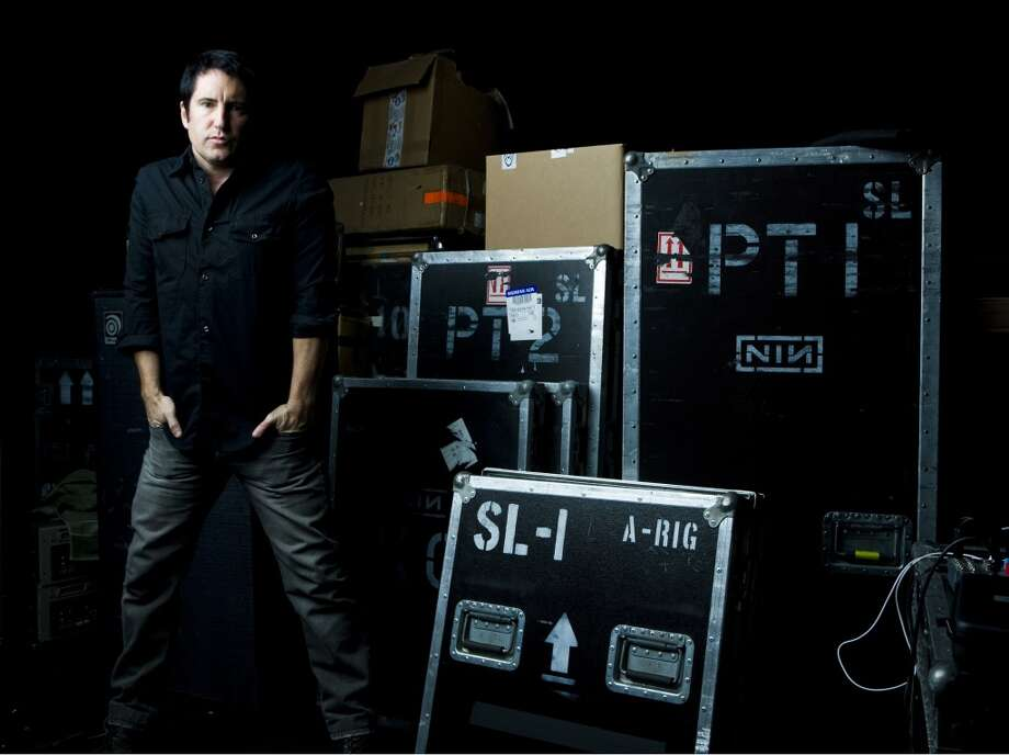 (NYT32) BURBANK, Calif. -- June 4, 2008 -- MUSIC-REZNOR-ADV08-2 -- Trent Reznor of the group Nine Inch Nails, at a rehearsal space, in Burbank, Calif., May 22, 2008. (Kevin Scanlon/The New York Times) Photo: NYT