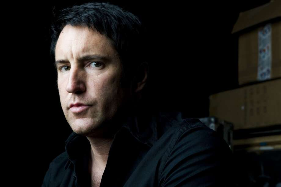 (NYT31) BURBANK, Calif. -- June 4, 2008 -- MUSIC-REZNOR-ADV08 -- Trent Reznor of the group Nine Inch Nails, at a rehearsal studio, in Burbank, Calif., May 22, 2008. (Kevin Scanlon/The New York Times) Photo: NYT