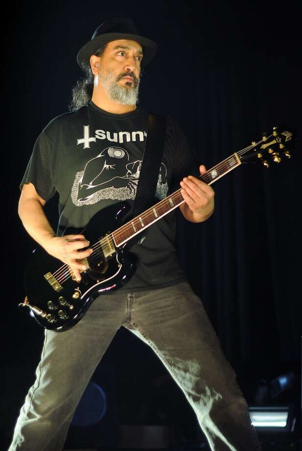 Soundgarden guitarist Kim Thayil performs at the Bayou Music Center Friday May 24, 2013.(Dave Rossman photo) Photo: For The Houston Chronicle