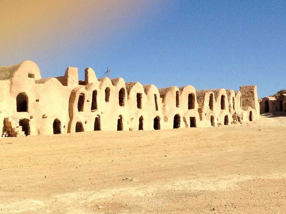 Star Wars made these old granaries familiar to the world.