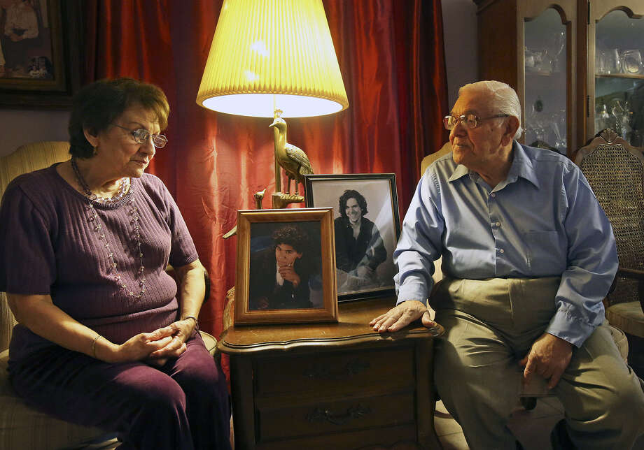 Eddie and Minnie Alejandro have come to terms with the killers of their son David. Photo: Tom Reel / San Antonio Express-News