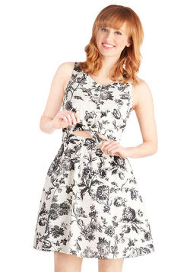 Brunch Over the Bluffs Dress, $57.99, ModCloth Photo: ModCloth