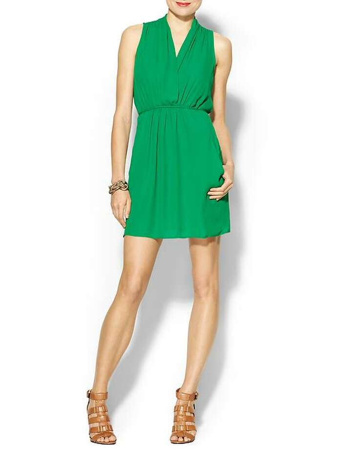 Collective Concepts Kelly Green Tie-Back Dress, $89, Piperlime Photo: Piperlime