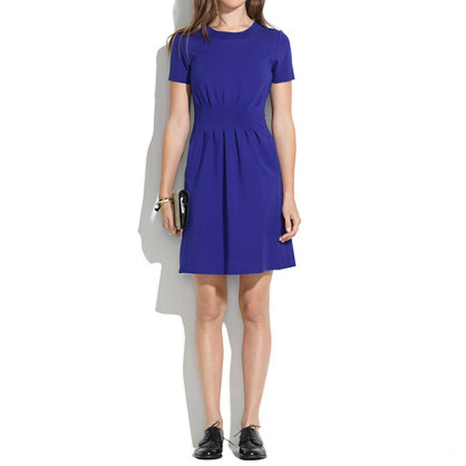 Cobalt Parkline Dress, $99.50, Madewell Photo: Madewell
