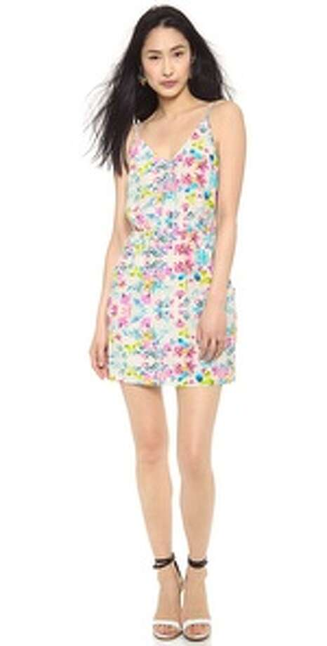Amanda Uprichard Floral Print Easy Pocket Dress, $216, Shopbop Photo: Shopbop