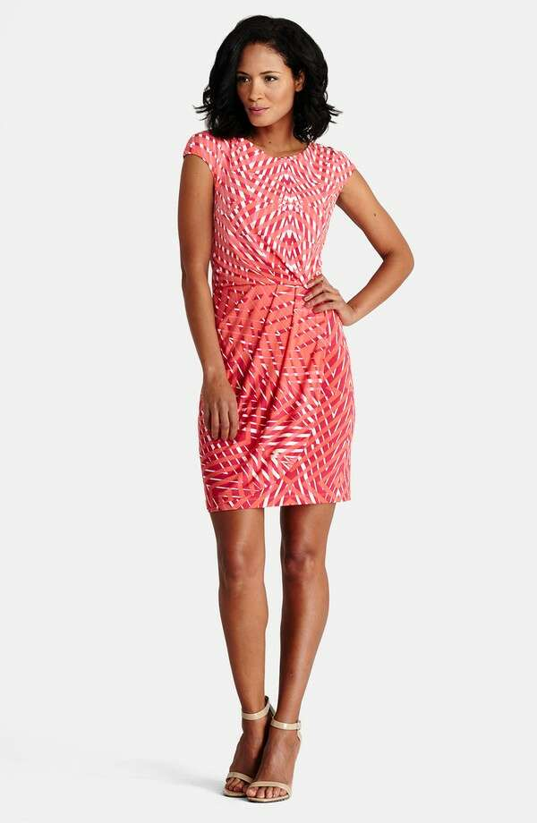 Donna Morgan Print Jersey Sheath Dress (petite), $188, Nordstrom Photo: Nordstrom