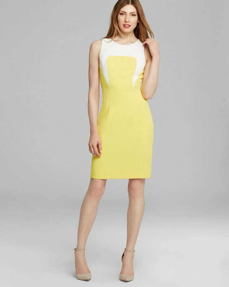 Rachel Roy Color Block Sheath Dress, $348, Bloomingdale's Photo: Bloomingdale's