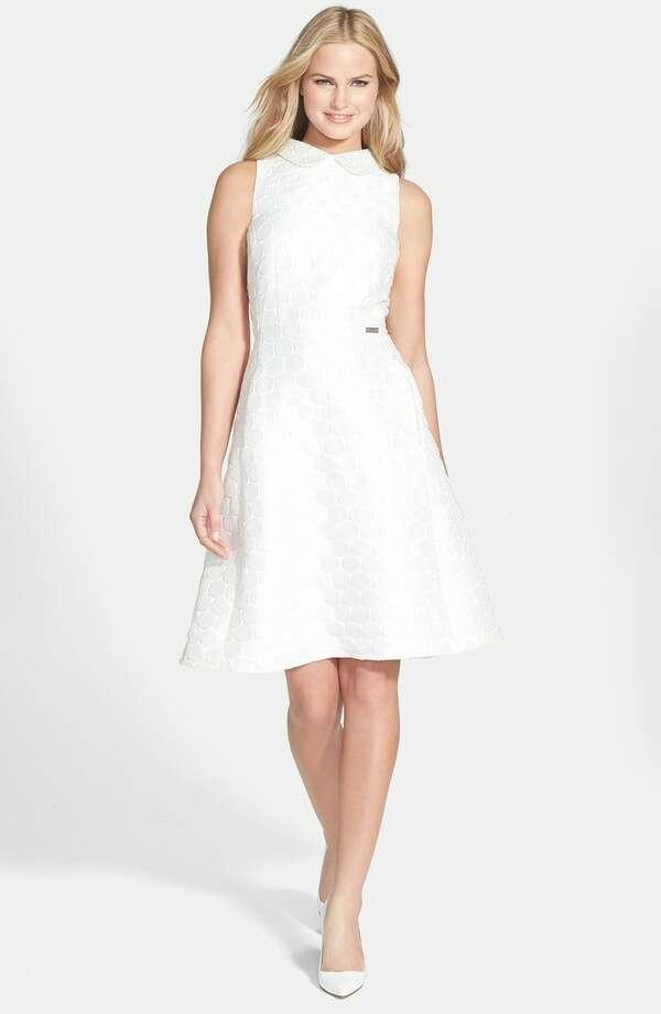 Pink Tartan 'Spot On' Tea Dress, $395, Nordstrom Photo: Nordstrom