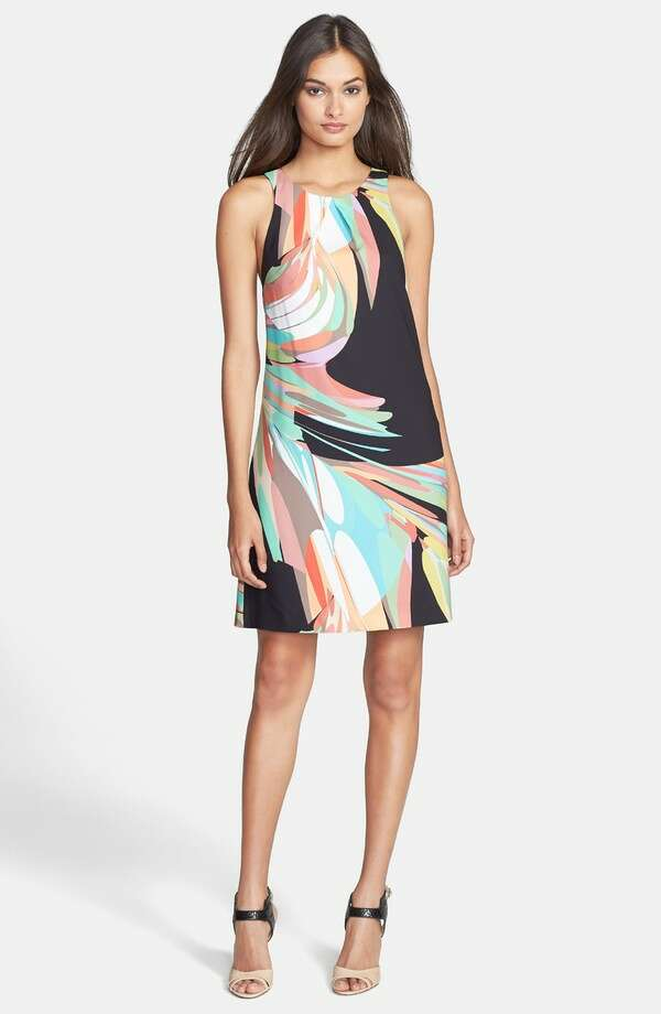Trina Turk 'Lea' Print Racerback Georgette Shift Dress, $268, Nordstrom Photo: Nordstrom