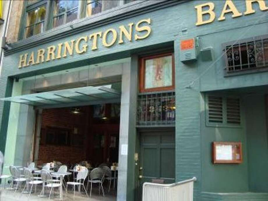 Harrington's Bar & Grill, which has been around since 1935, starts its party at 5 p.m. with food, live music by Ben Hunter & Celtic Scandal and bagpipes. $5 cover. Photo: Harrington's Bar