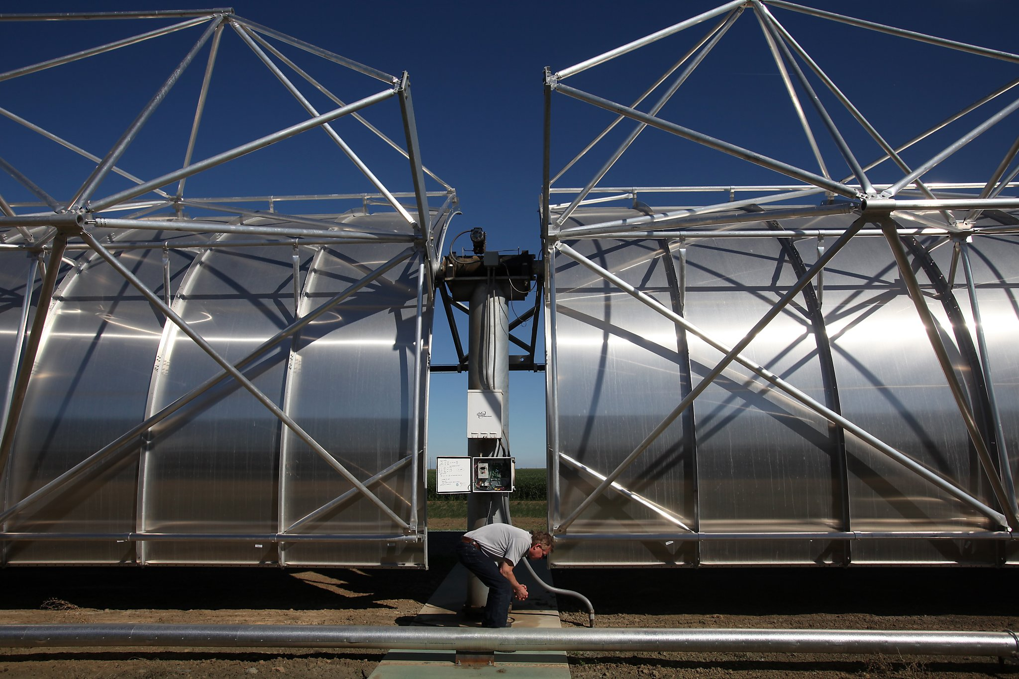 California drought Solar desalination plant shows promise SFGate