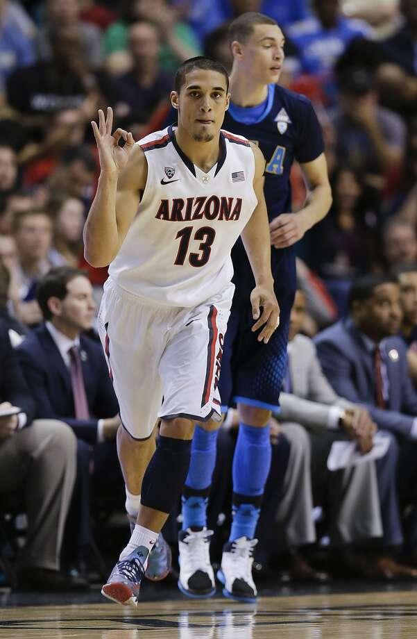 Nick Johnson leads West No. 1 seed Arizona. Photo: Julie Jacobson, Associated Press