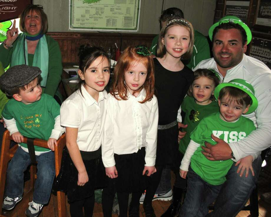 St. Patrick's Day revelers celebrated Sunday, March 16, 2014 at O'Brien's Pub in Danbury. Bethel's Gilleoghan Irish Dance School entertained. Were you SEEN? Photo: Wendy Mitchell
