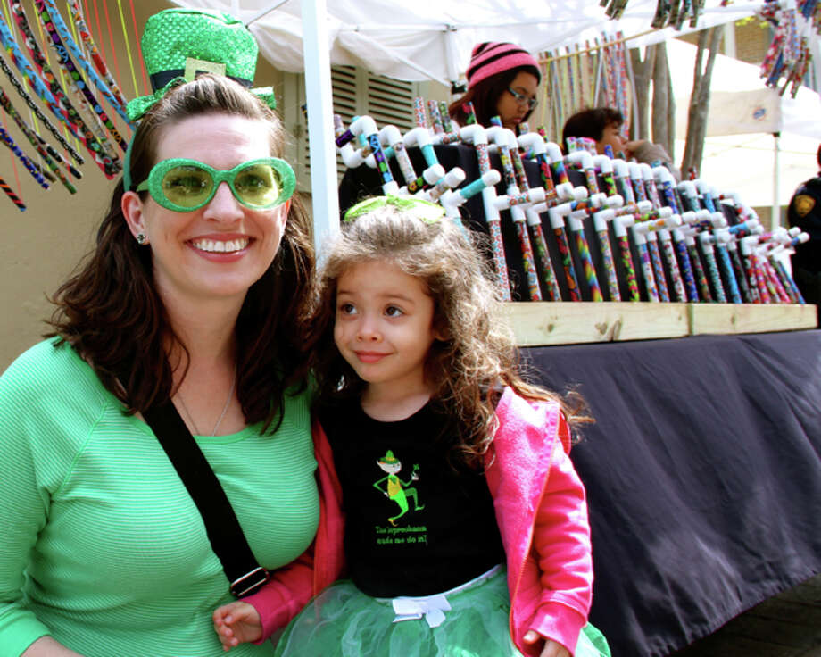 San Antonians showed up for the annual St. Patrick's Day River Parade. Were you among the them? Photo: By DeAnne Cuellar, For MySA.com