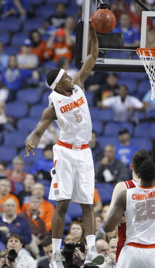 Syracuse Orange (27-5)  Conference: ACC (at-large bid)  Seeding: No. 3 in South region  Odds to win it all: 20/1 Photo: Ethan Hyman, McClatchy-Tribune News Service