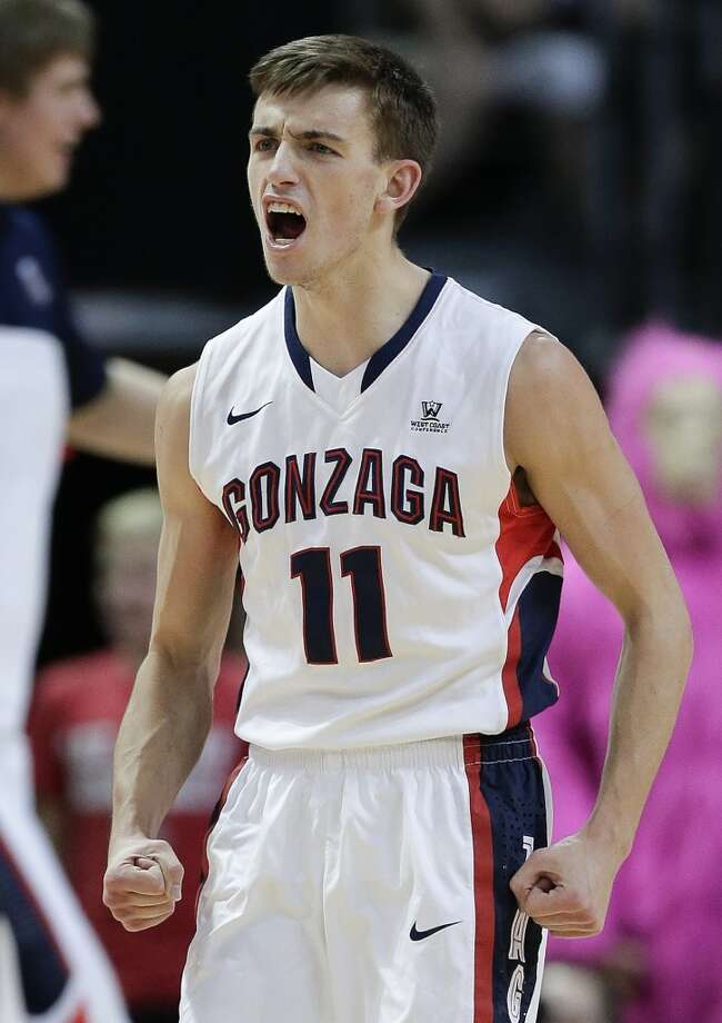 Gonzaga Bulldogs (28-6)  Conference: West Coast Conference (automatic bid)  Seeding: No. 8 in West region  Odds to win it all: 100/1 Photo: Julie Jacobson, Associated Press