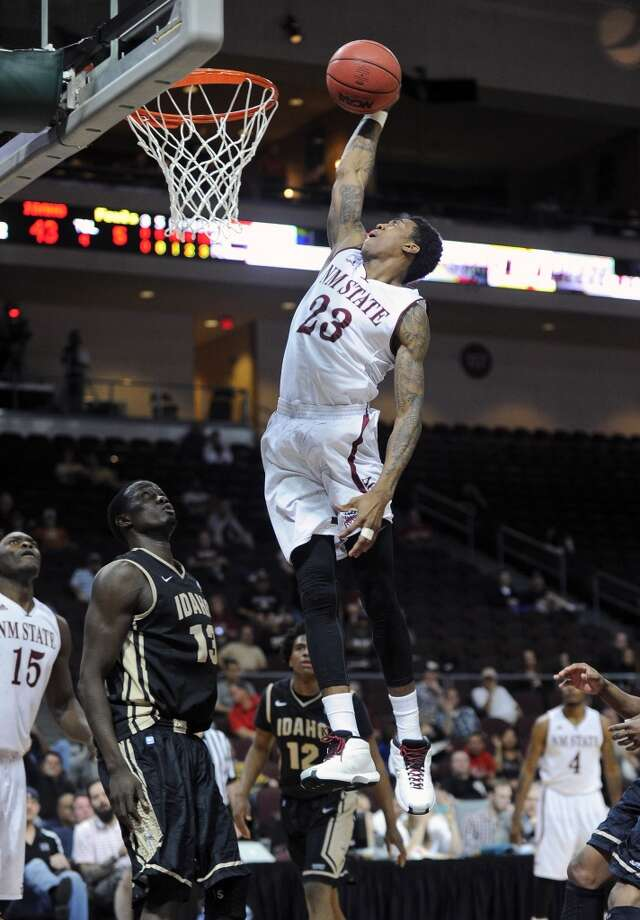 New Mexico State Aggies (26-9)  Conference: WAC (automatic bid)  Seeding: No. 13 in West region  Odds to win it all: 1,000/1 Photo: David Becker, Associated Press