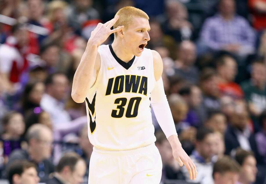 Iowa Hawkeyes (20-12)  Conference: Big Ten (at-large bid)  Seeding: No. 11 in Midwest region  Odds to win it all: 75/1 Photo: Andy Lyons, Getty Images