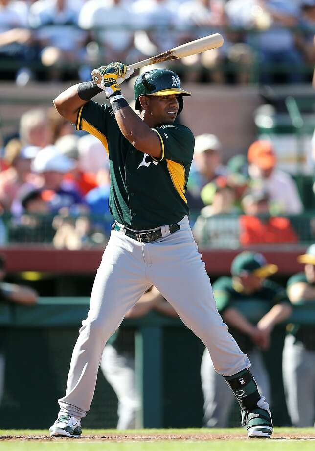 Yoenis Céspedes is doing what hitting coach Chili Davis has asked this spring, but is frustrated with the 4-for-36 results. Photo: Christian Petersen, Getty Images