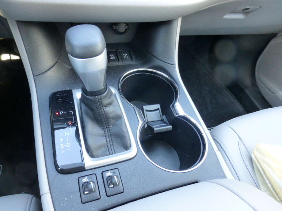 "The six-speed automatic transmission also has a ""manumatic"" option, allowing you to manually shift gears."