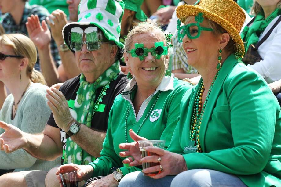 32.7 million or 10.2 percent  The number and percentage of U.S. residents who claimed Irish ancestry in 2015. This number was more than seven times the population of Ireland itself (4.6 million). Irish was the nation's second-most frequently reported European ancestry, trailing German.Source: U.S. Census Photo: JERRY LARA, San Antonio Express-News