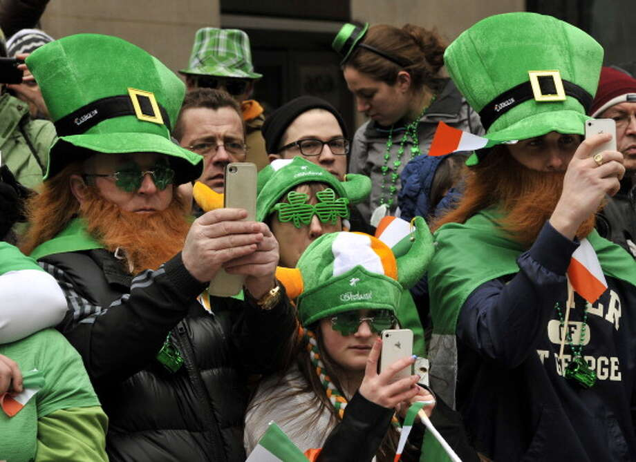 2 million:The number of people who watch the St. Patrick's Day parade in New York City each year Photo: TIMOTHY A. CLARY, AFP/Getty Images / Getty Images