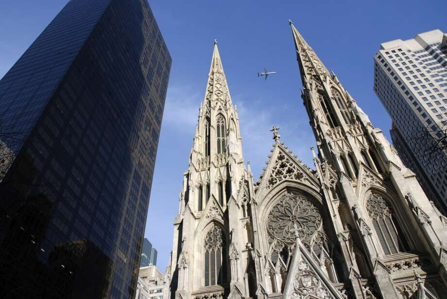 5.5 million:The number of people who visit St. Patrick's Cathedral in New York City each year Photo: 663096, Getty Images/age Fotostock RM