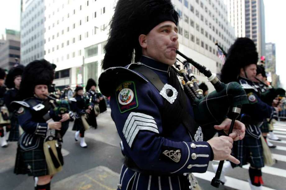 More than 250: The number of times New York City has held its St. Patrick's Day Parade Photo: Mary Altaffer, AP / AP