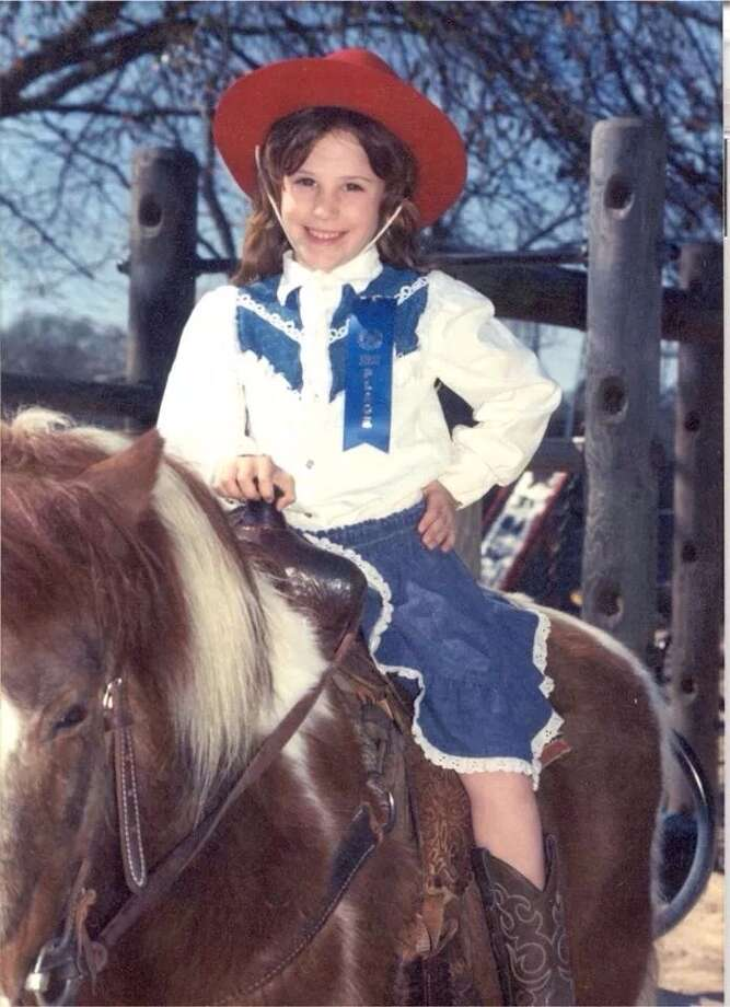 My daughter ready to rodeo. Pat Parks
