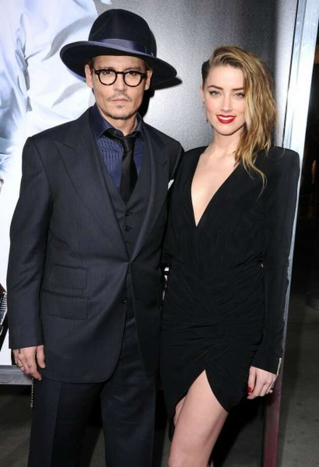 Johnny Depp married Amber Heard on Tuesday, reports say. (Handout photo) 