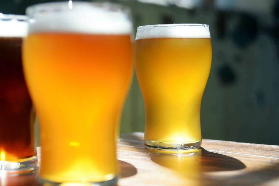 Drink craft beer. Exotic brews are becoming increasingly popular in the Bay Area and beyond. Potential off-strip beer guzzling locations in Las Vegas include the Tenaya Creek Brewery or Big Dog's Brewing Company. Photo: Carla Gottgens, Bloomberg