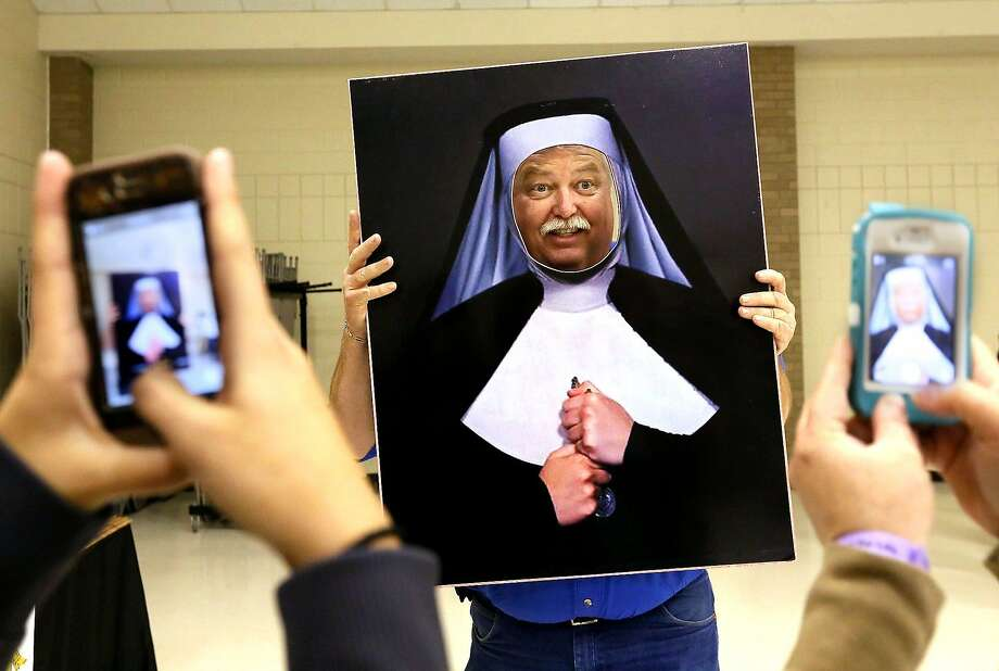 Get thee to a nunnery:The new, hairy nun at St. Elizabeth Ann Seton Catholic Church 