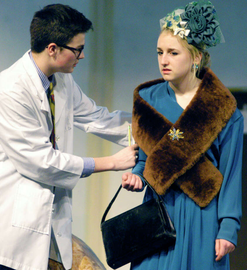 "The comedic wit of Mary Chase's Pulitzer Prize-winning play, ""Harvey,"" will hit the Shepaug Valley High School stage in Washington. This weekend's performances will be held on March 28 and 29 at 7 p.m. Find out more.   Photo: Norm Cummings / The News-Times"