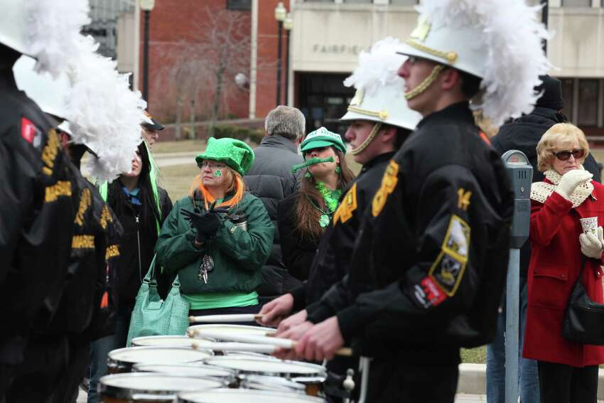 Bridgeport hosts the Greater Bridgeport 32nd St.Patrick's Day Parade on Monday, March 17, 2014.